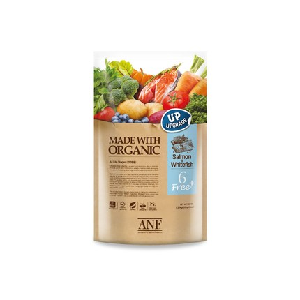 ANF 유기농 6free 플러스 연어+흰살생선, 1.8kg, 1개