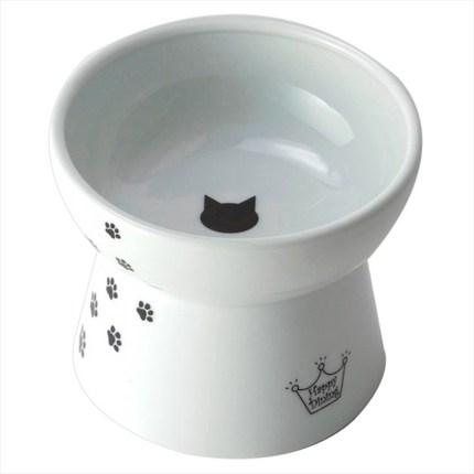네코이찌 푸드볼 자기 식기, 고양이무늬, 1개