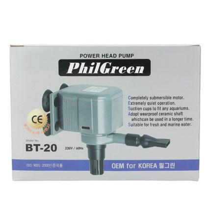 필그린 수족관용 수중펌프 20W, 1개