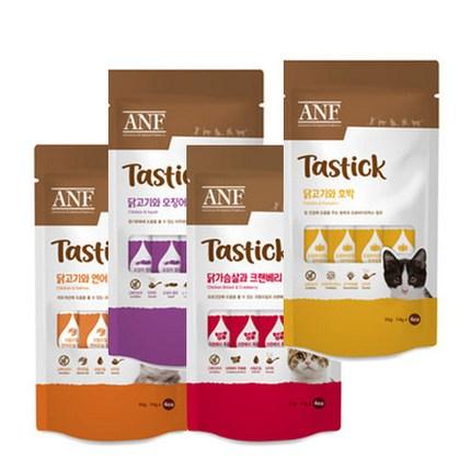 ANF 테이스틱 56g 4종 중 1선택 고양이 간식, 4개, 혼합(각1개씩)
