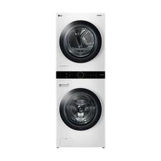 lg트롬 워시타워 – LG전자 트롬 워시타워 W17WTA 세탁기 24kg + 건조기 17kg 방문설치 릴리 화이트