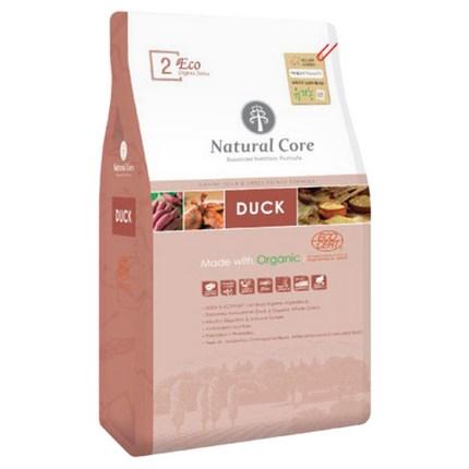 네츄럴코어 전연령 오리 에코 2 유기농 큰입자 알러지 반려견 사료, 9kg, 1개