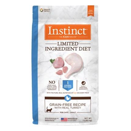 인스팅트 생식본능 LID칠면조고기 캣 키블 고양이 건식사료, 5kg, 1개