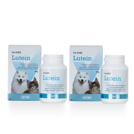 베터 루테인 강아지 고양이 영양제 90g, 루테인 영양제 90g (눈건강), 2개입