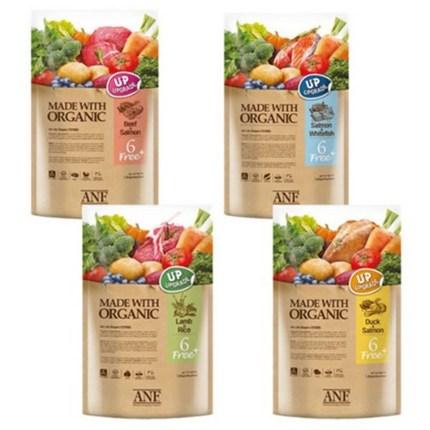 ANF 6FREE Plus 유기농 오가닉 강아지사료, 양고기 쌀 1.8kg