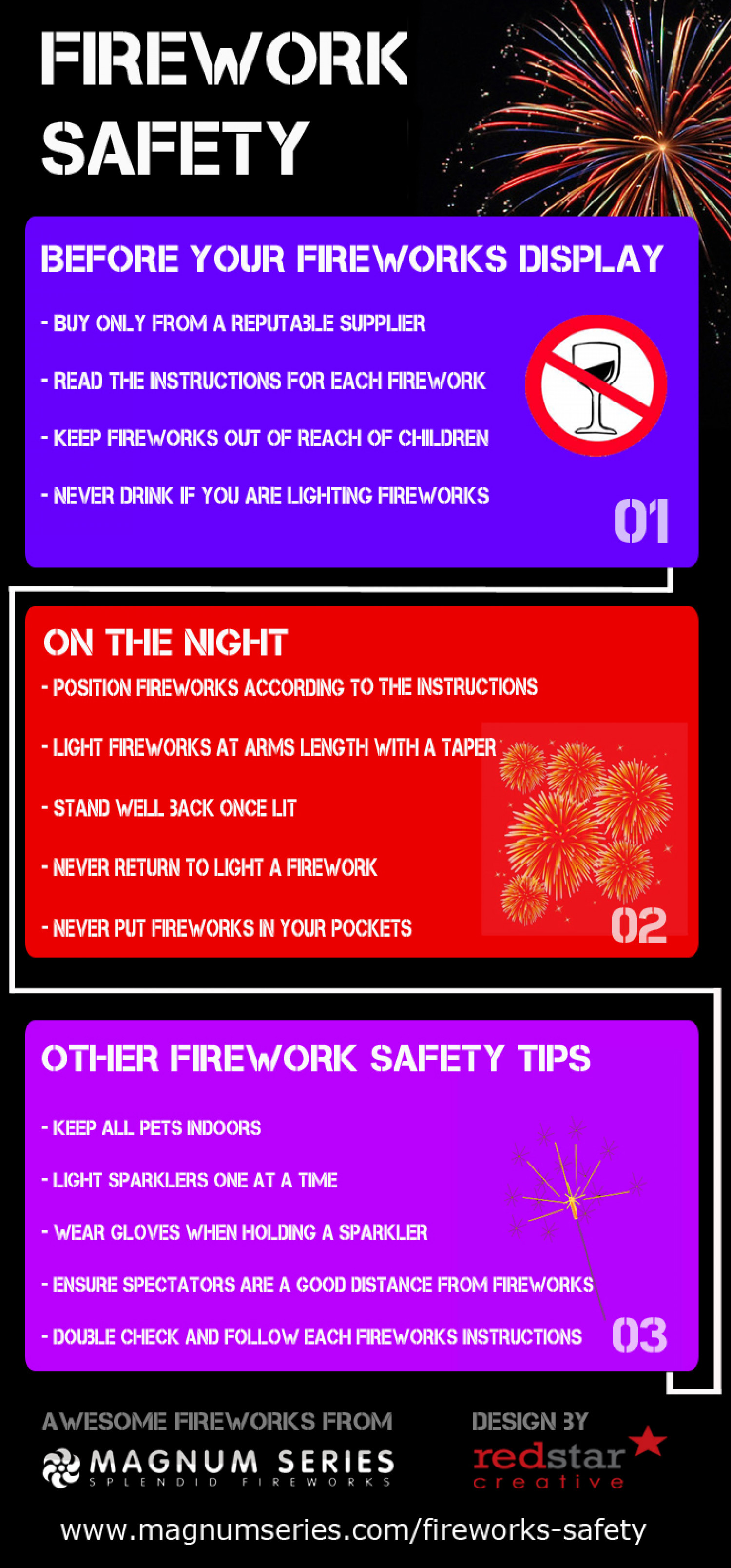 Staying Safe With Fireworks