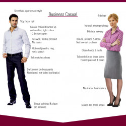 What To Wear And Bring To A Job Interview Visually