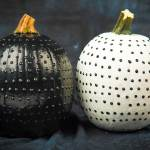 2 No Carve Pumpkin Decorating Ideas