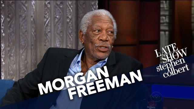 Image result for Morgan Freeman Likes The Same Sci-Fi As Stephen
