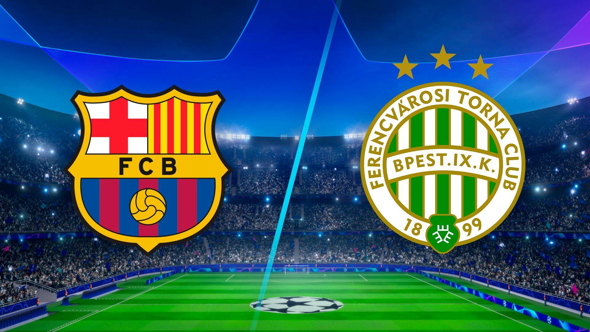 watch uefa champions league season 2021 episode 18 barcelona vs ferencvaros full show on paramount plus