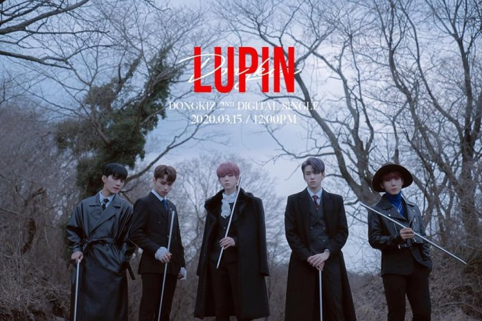 DONGKIZ 2nd Digital Single [LUPIN] Teaser Photo | Kpopmap - Kpop, Kdrama  and Trend Stories Coverage