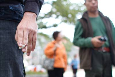 The change in the legal smoking age would affect everyone except military personnel.