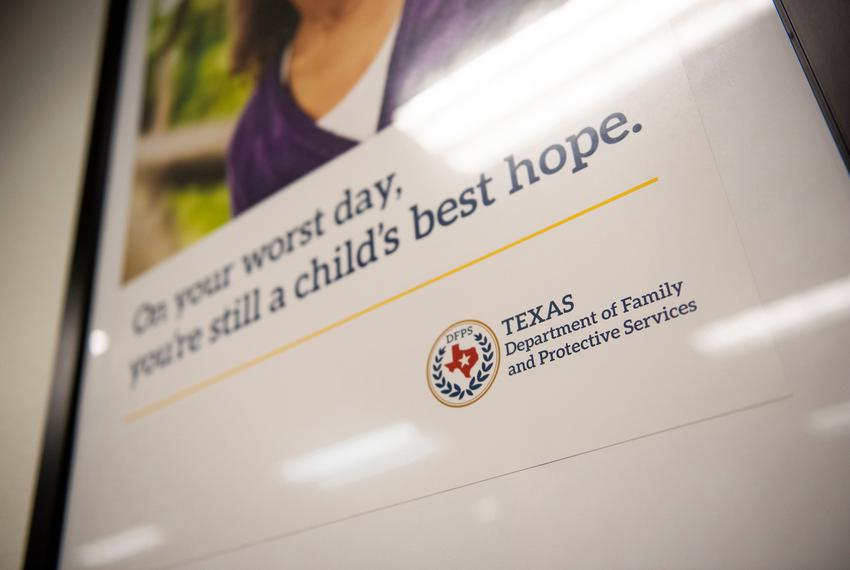 The Texas Department of Family and Protective Services offices in Austin on Nov. 14, 2019.
