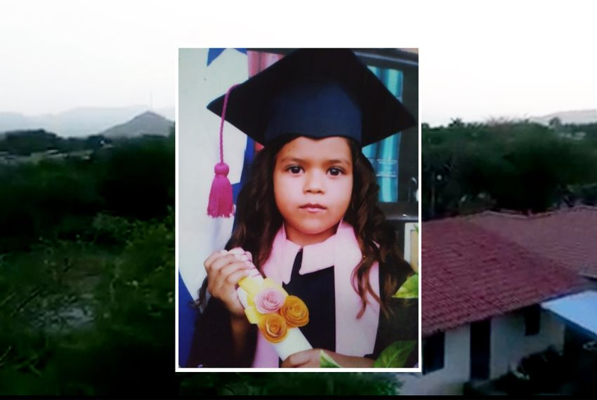 """Six-year-old Heyli was separated from her father after crossing the U.S. border in late May. Her mother and aunt, who have spoken to her by phone, say she cries constantly and begs them to take her away from the Arizona facility where she is being held. """"There's nothing else I can say to say to make her stop crying,"""" Heyli's mother said."""