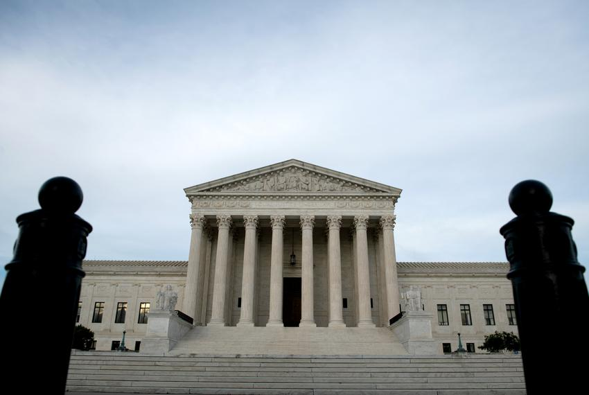 The U.S. Supreme Court in Washington, D.C., on May 28, 2020.