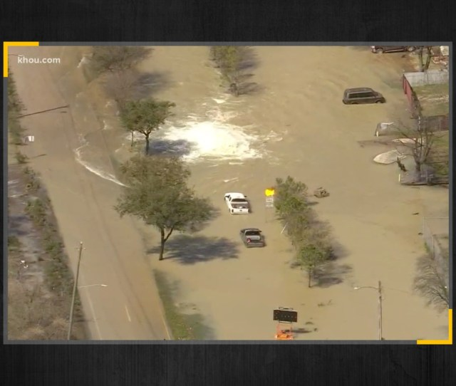 Water Main Break In Houston What You Need To Know The Texas Tribune