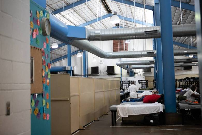 Dallas' Austin Street Center has 400 beds and meets or nears capacity every day.