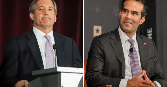 """Texas Land Commissioner George P. Bush """"seriously considering"""" run for attorney general, lays out case against Ken Paxton"""