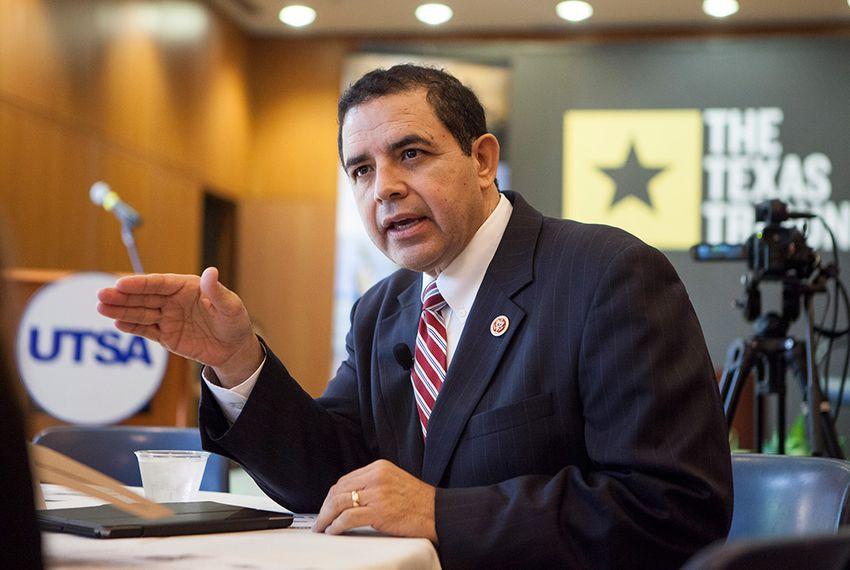 U.S. Rep. Henry Cuellar, D-Laredo, at a Texas Tribune Event on the UT-San Antonio campus.