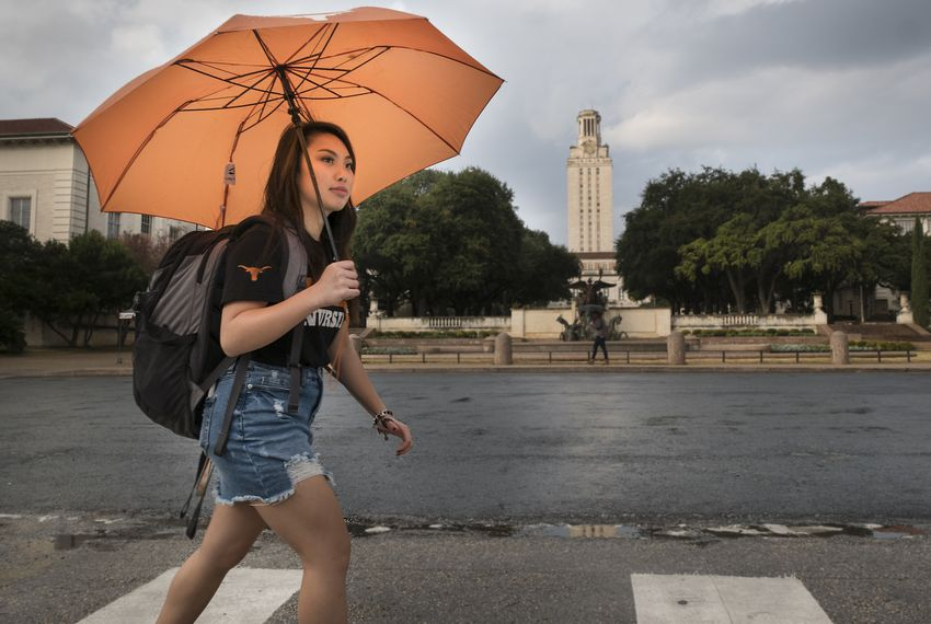 Tiffany Pham, a freshman nursing student at The University of Texas, was one of about 30 students who received an Impact Scholarship to UT. The scholarship recognizes students who have made an impact in their communities and covers the cost of tuition for four years at UT Austin.