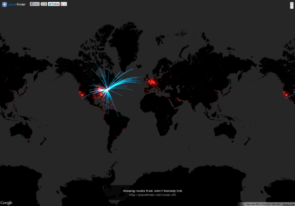 Airline Route Visualisation