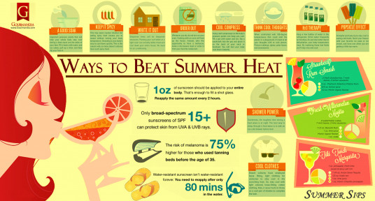 Ways to Beat Summer Heat
