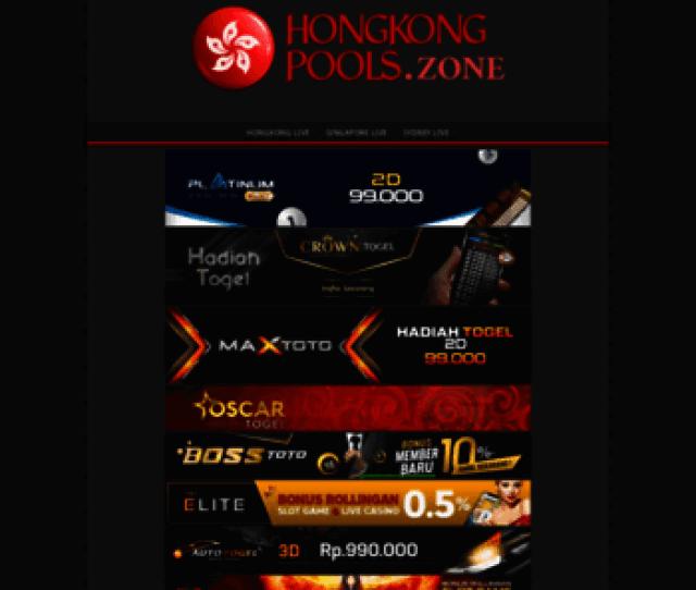 Hongkongpools Zone At Wi Forum Prediksi Togel Paito Dan