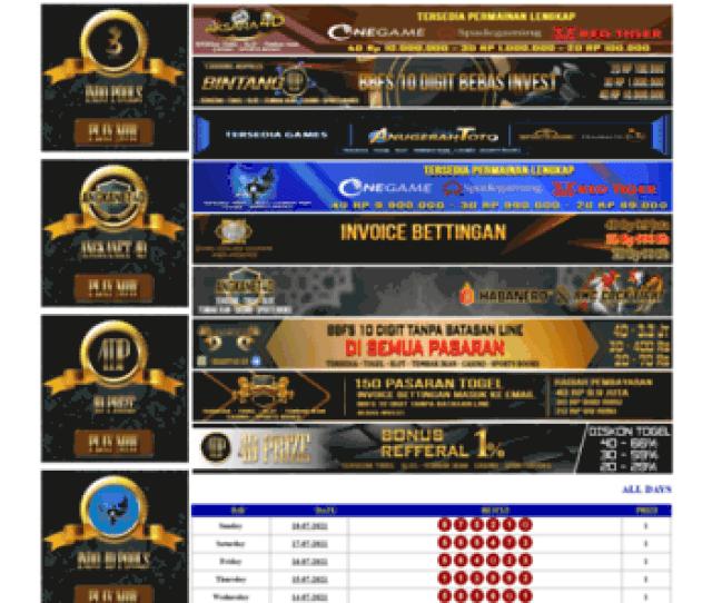 Livehongkongpools Id At Wi Live Draw Hongkong Pools Lottery