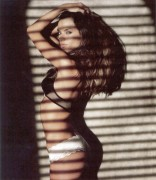 Alessandra Ambrosio lingerie butt