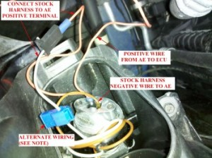 DIY  Wiring Facelift (2004 06) Angel Eyes as DRLs