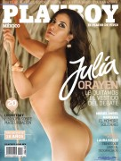 Julia Orayen Playboy Mexico Julio 2012