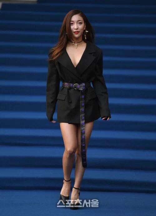 [SS포토]루나, '워킹이 패션모델이네~'