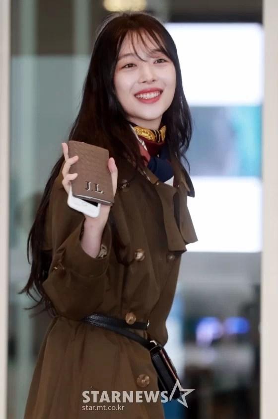 [★포토]설리 '예쁨 가득한 미소'