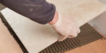 tiling onto plywood topps tiles