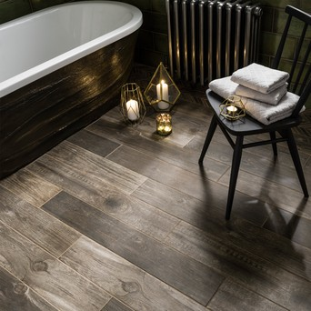 wooden plank tiles for bathrooms