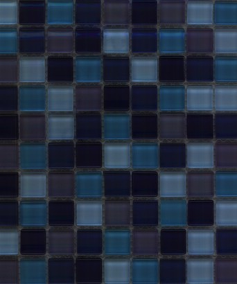 purple blue glass mix mosaic tile