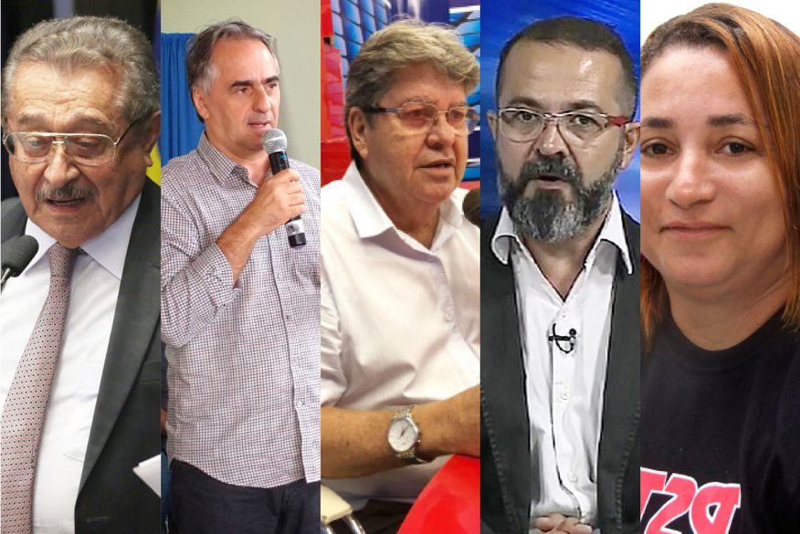 candidatos ao governos da pb 03 - Candidatos a governador vão até a cidade de Sousa para participar de debate
