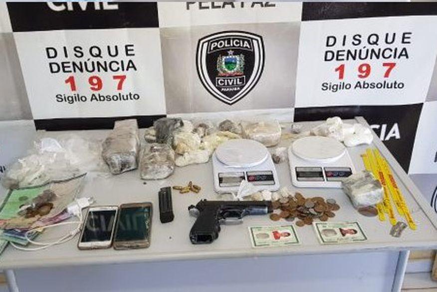 policia civil - Polícia Civil da Paraíba deflagra operação contra tráfico de drogas em Picuí