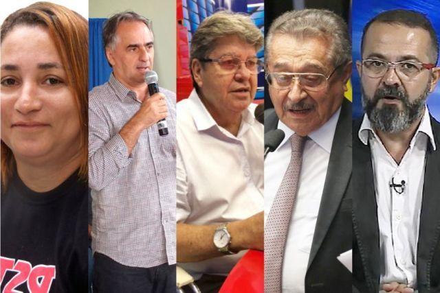 candidatos ao governos da pb 05 - Confira a agenda dos candidatos ao governo da Paraíba para esse final de semana