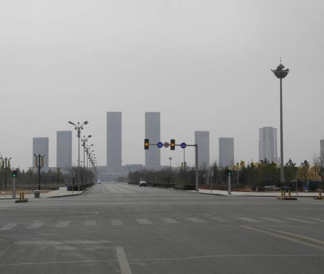 Chinas Largest Ghost City Is Now Almost Completely Full But Theres A Twist