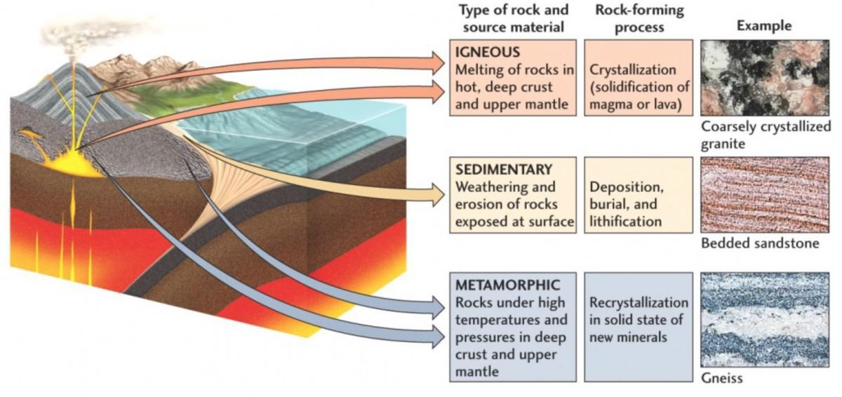 31 Label The Rock Cycle Diagram