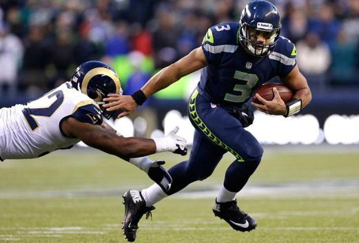 Image result for Russell Wilson running picture