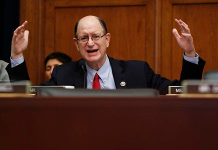 Congressman Warns Bitcoin Is A Threat To The U.S. Dollar