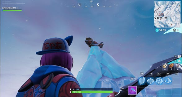 Fortnite Challenge Where To Dance On Top Of A Submarine Final Stage
