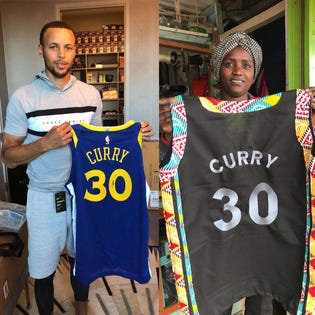 As All-Star Weekend Hits Steph Curry's Hometown, A Jersey Exchange Is Helping Change Lives In Kenya