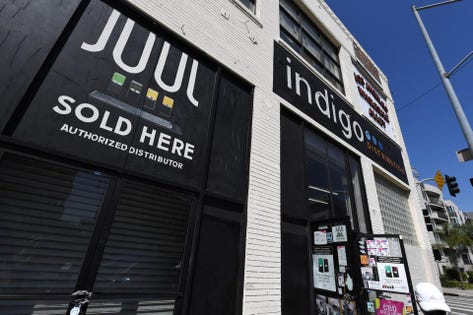 Juul CEO Kevin Burns Steps Down, Suspends Advertising Amid Vaping Crisis