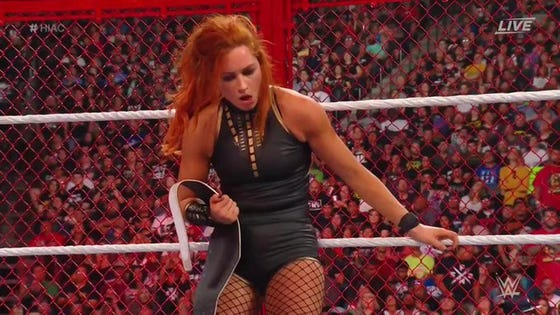 WWE Hell In A Cell 2019 Results: Becky Lynch Beats Sasha Banks But Still May Be SmackDown Bound