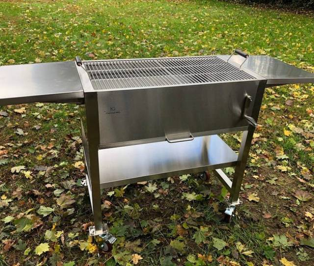 The Ig Charcoal Bbq Can Feed 2 People Or 30 By Packing A Lot Of Features