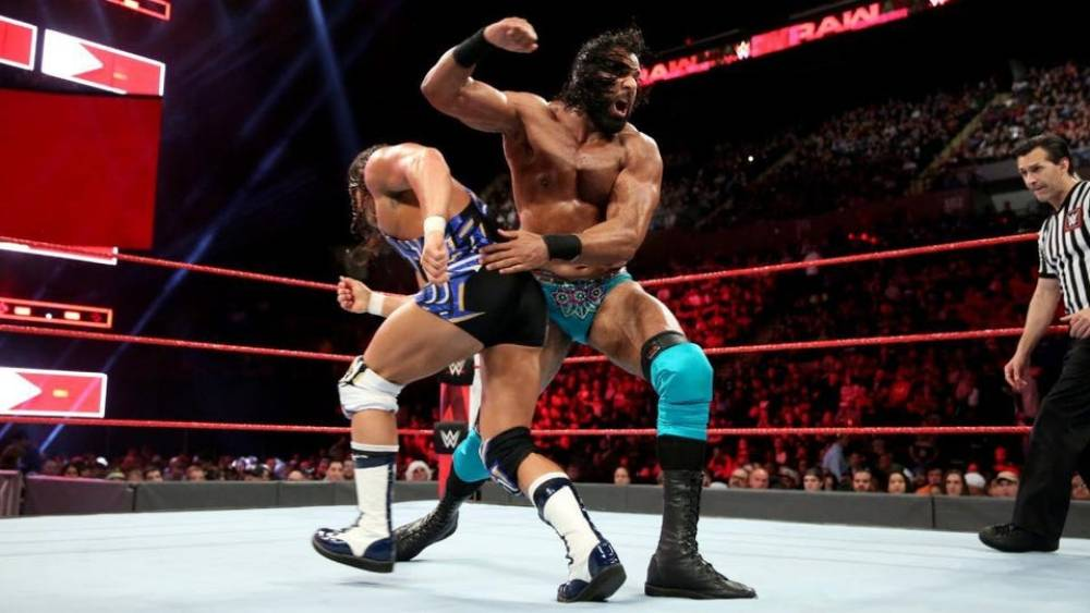 Jinder Mahal Chad Gable WWE