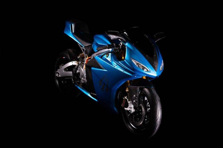 The Lightning Strike machines are performance-oriented and feature full fairing coverage of the battery and internals for better aerodynamics.